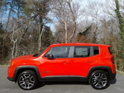 Colorado Red 2021 Jeep Renegade Jeepster 4x4
