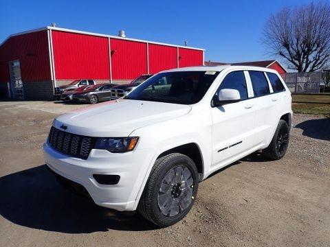 Bright White 2021 Jeep Grand Cherokee Laredo 4x4
