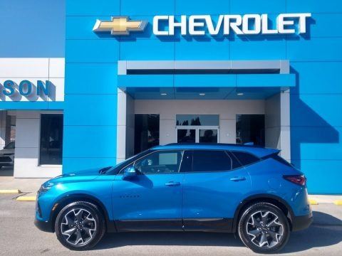 Bright Blue Metallic 2020 Chevrolet Blazer RS AWD