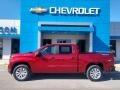Chevrolet Silverado 1500 Custom Crew Cab 4x4 Cherry Red Tintcoat photo #1