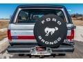 Ford Bronco XLT 4x4 Medium Silver Metallic photo #5
