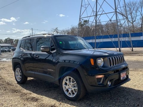 Black 2021 Jeep Renegade Limited 4x4
