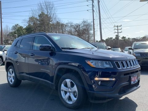 Jazz Blue Pearl 2021 Jeep Compass Latitude 4x4