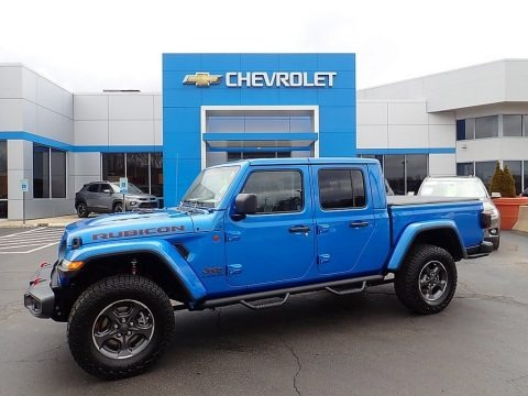 Hydro Blue Pearl 2020 Jeep Gladiator Rubicon 4x4