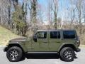 Jeep Wrangler Unlimited Rubicon 4x4 Sarge Green photo #1