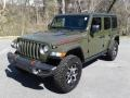 Jeep Wrangler Unlimited Rubicon 4x4 Sarge Green photo #2