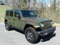 Jeep Wrangler Unlimited Rubicon 4x4 Sarge Green photo #4