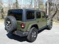 Jeep Wrangler Unlimited Rubicon 4x4 Sarge Green photo #6