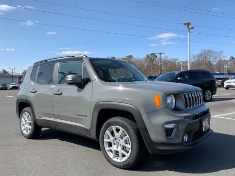 Sting-Gray 2021 Jeep Renegade Limited 4x4
