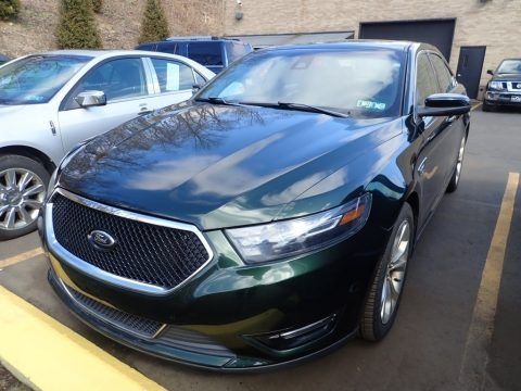 Green Gem Metallic 2013 Ford Taurus SHO AWD