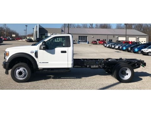 Oxford White 2020 Ford F550 Super Duty XL Regular Cab Chassis
