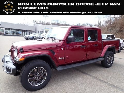 Snazzberry Pearl 2021 Jeep Gladiator Overland 4x4
