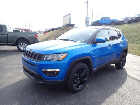 Laser Blue Pearl 2021 Jeep Compass Altitude 4x4