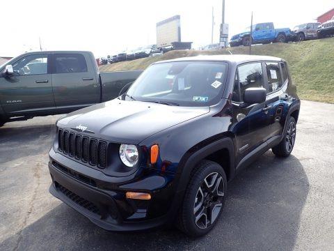 Black 2021 Jeep Renegade Jeepster 4x4