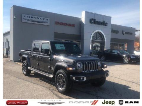 Granite Crystal Metallic 2021 Jeep Gladiator Overland 4x4