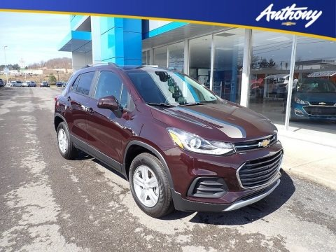 Mosaic Black Metallic 2021 Chevrolet Trax LT AWD