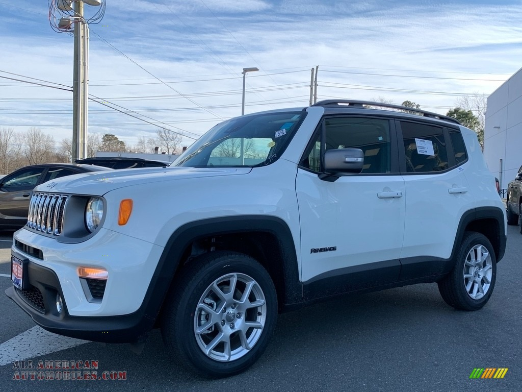 2021 Renegade Limited 4x4 - Alpine White / Black photo #1