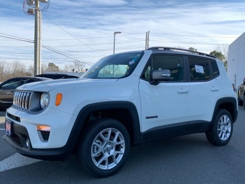 Alpine White 2021 Jeep Renegade Limited 4x4