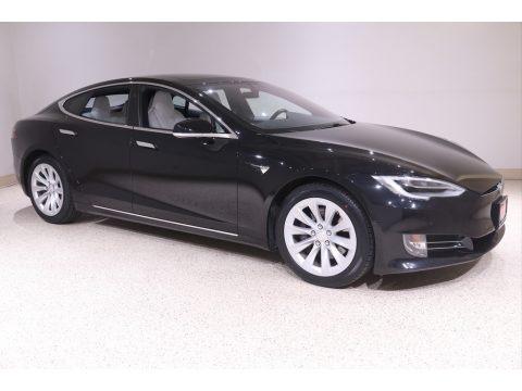 Obsidian Black Metallic 2018 Tesla Model S 75D
