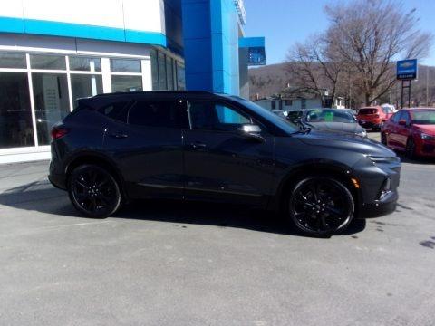 Iron Gray Metallic 2021 Chevrolet Blazer RS AWD