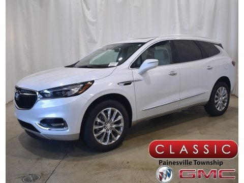 White Frost Tricoat 2021 Buick Enclave Essence AWD