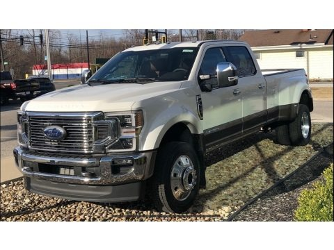Star White Metallic 2021 Ford F450 Super Duty King Ranch Crew Cab 4x4