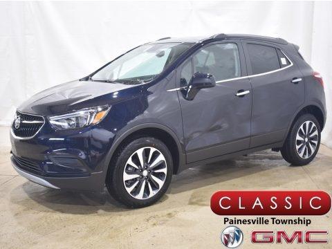 Dark Moon Blue Metallic 2021 Buick Encore Preferred AWD