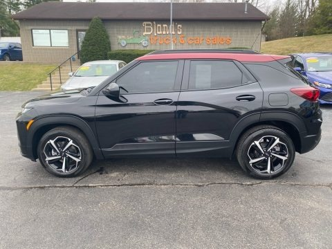 Mosaic Black Metallic 2021 Chevrolet Trailblazer RS