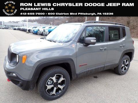 Sting-Gray 2021 Jeep Renegade Trailhawk 4x4
