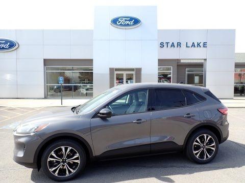 Carbonized Gray Metallic 2021 Ford Escape SE