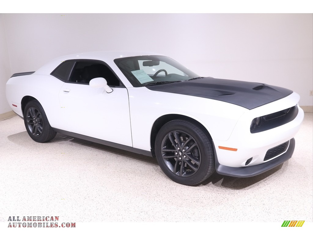 2019 Challenger GT AWD - White Knuckle / Black photo #1