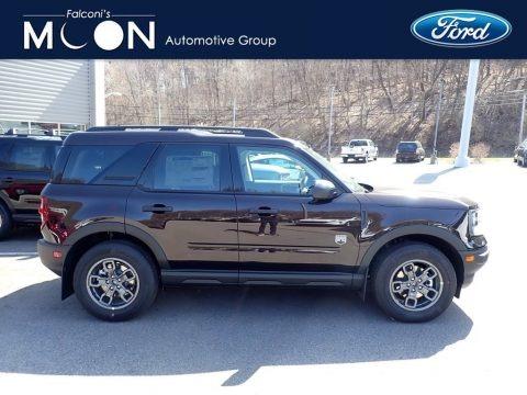 Kodiak Brown Metallic 2021 Ford Bronco Sport Big Bend 4x4