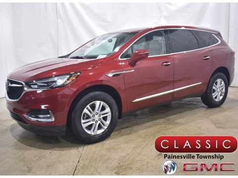 Red Quartz Tintcoat 2021 Buick Enclave Essence AWD