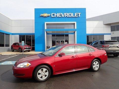 Red Jewel Tintcoat 2009 Chevrolet Impala LT