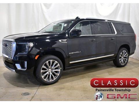 Onyx Black 2021 GMC Yukon XL Denali 4WD