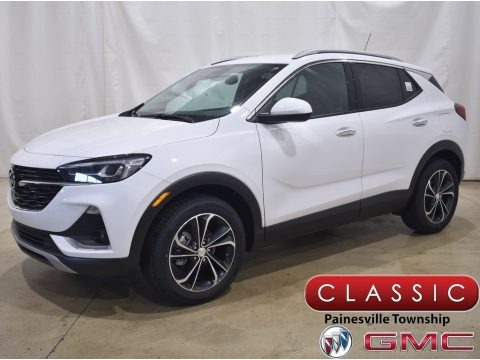 Summit White 2021 Buick Encore GX Essence