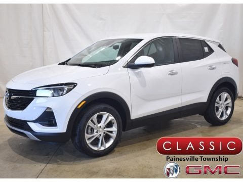 Summit White 2021 Buick Encore GX Preferred