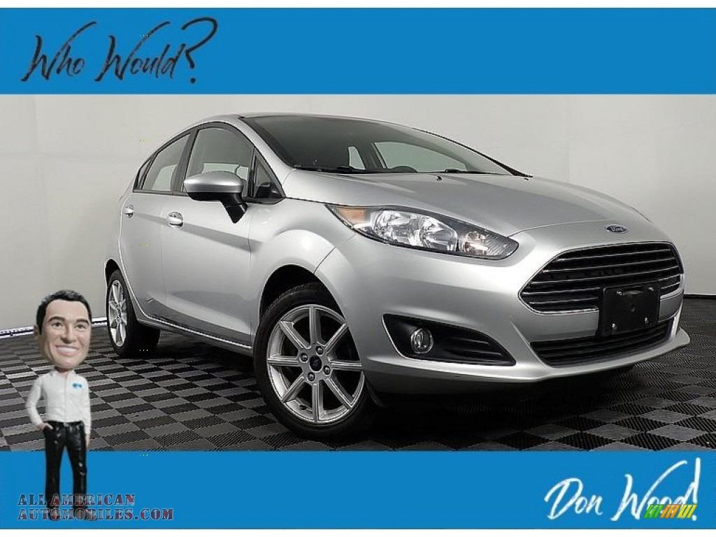 2018 Fiesta SE Hatchback - Ingot Silver / Charcoal Black photo #1