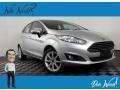 Ford Fiesta SE Hatchback Ingot Silver photo #1