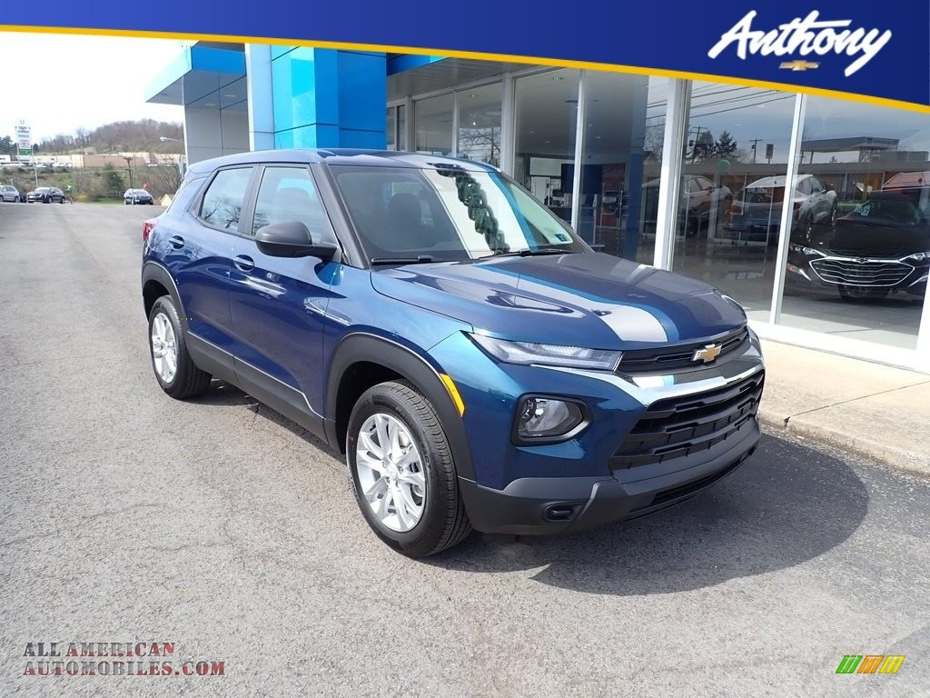 2021 Trailblazer LS AWD - Pacific Blue Metallic / Jet Black photo #1