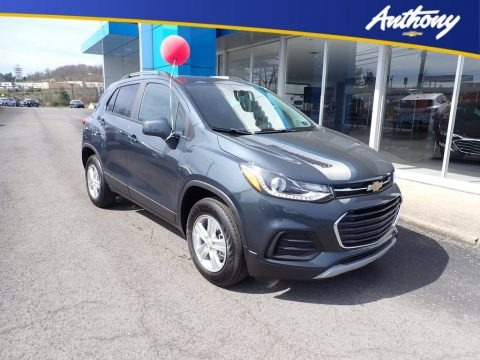 Shadow Gray Metallic 2021 Chevrolet Trax LT AWD