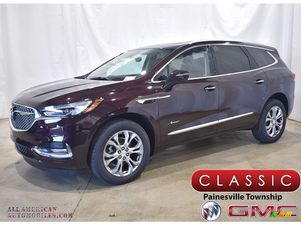 2021 Enclave Avenir AWD - Rich Garnet Metallic / Ebony w/Ebony Accents photo #1