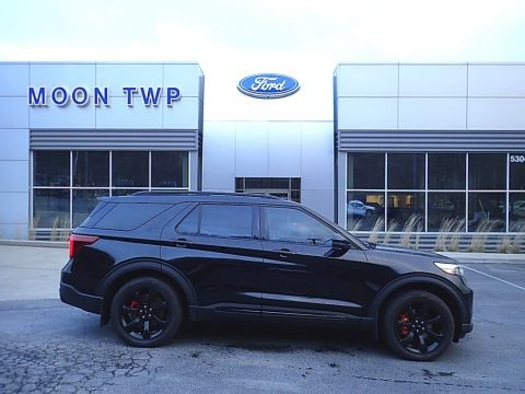 Agate Black Metallic 2020 Ford Explorer ST 4WD