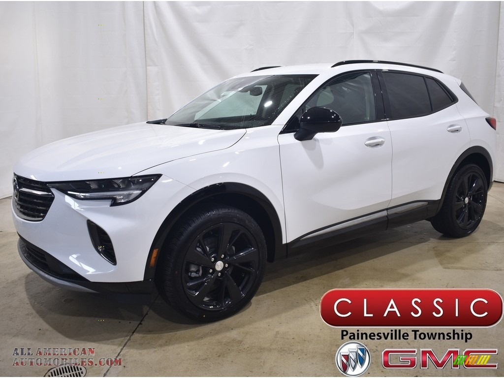 2021 Envision Preferred AWD - Summit White / Ebony w/Ebony Accents photo #1