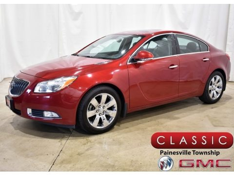 Crystal Red Tintcoat 2013 Buick Regal Turbo
