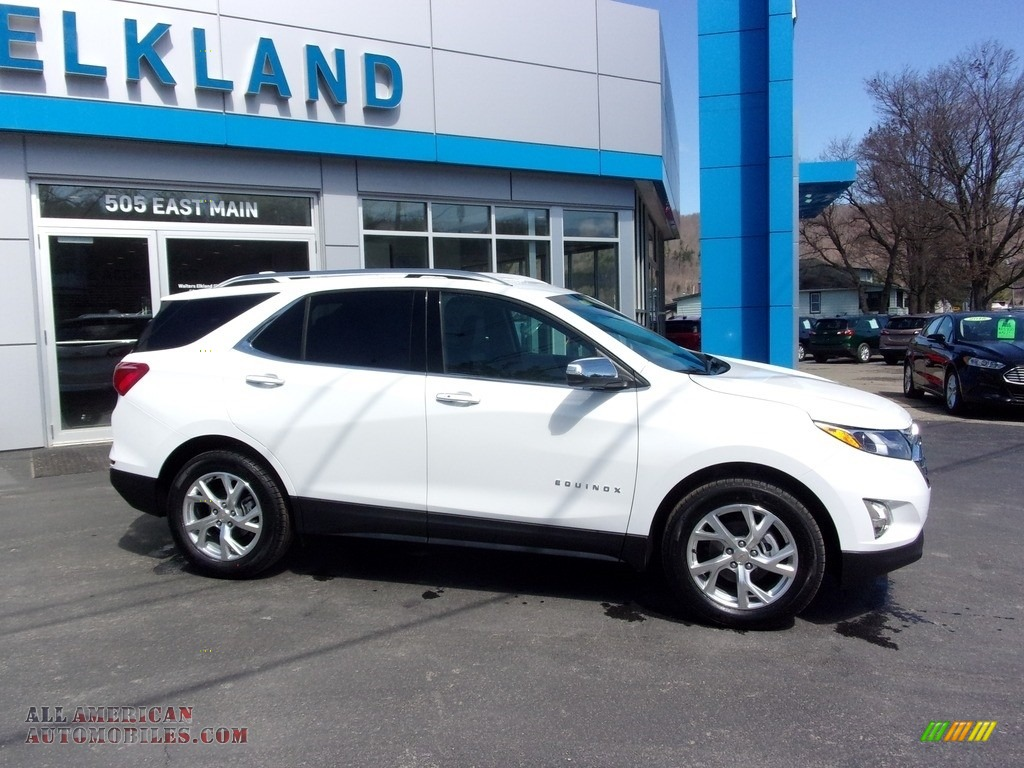 2021 Equinox Premier AWD - Summit White / Medium Ash Gray photo #1