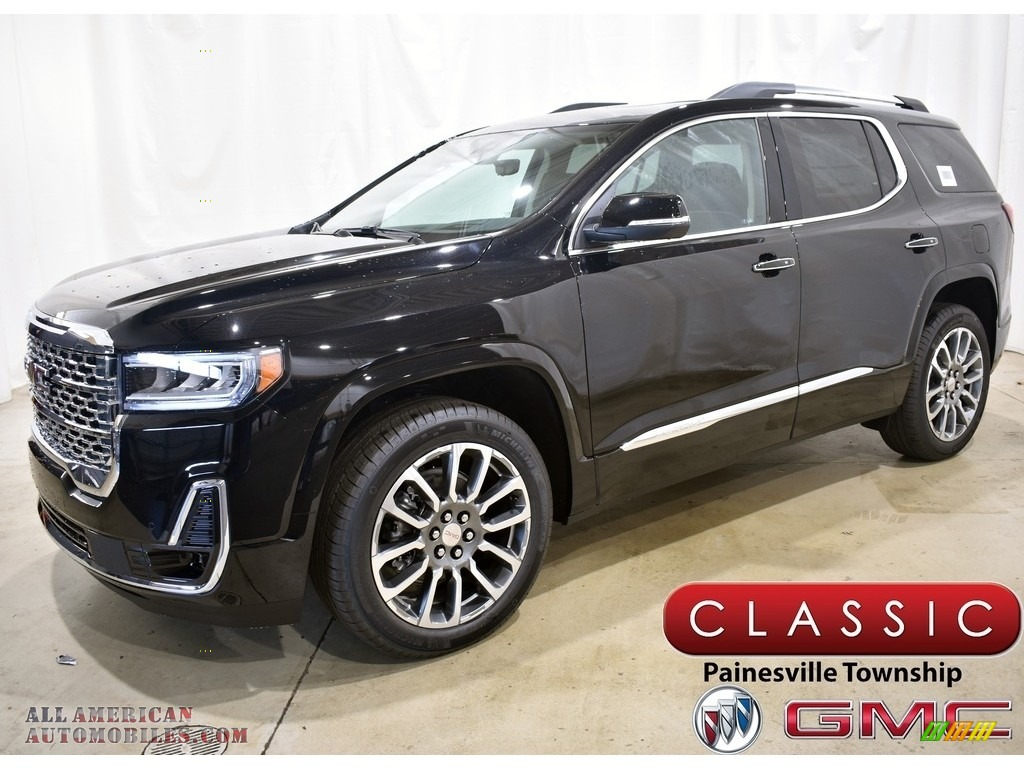 2021 Acadia Denali AWD - Ebony Twilight Metallic / Jet Black photo #1