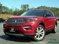 Ford Explorer Platinum 4WD Rapid Red Metallic photo #1