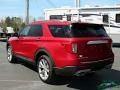 Ford Explorer Platinum 4WD Rapid Red Metallic photo #3
