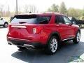 Ford Explorer Platinum 4WD Rapid Red Metallic photo #5